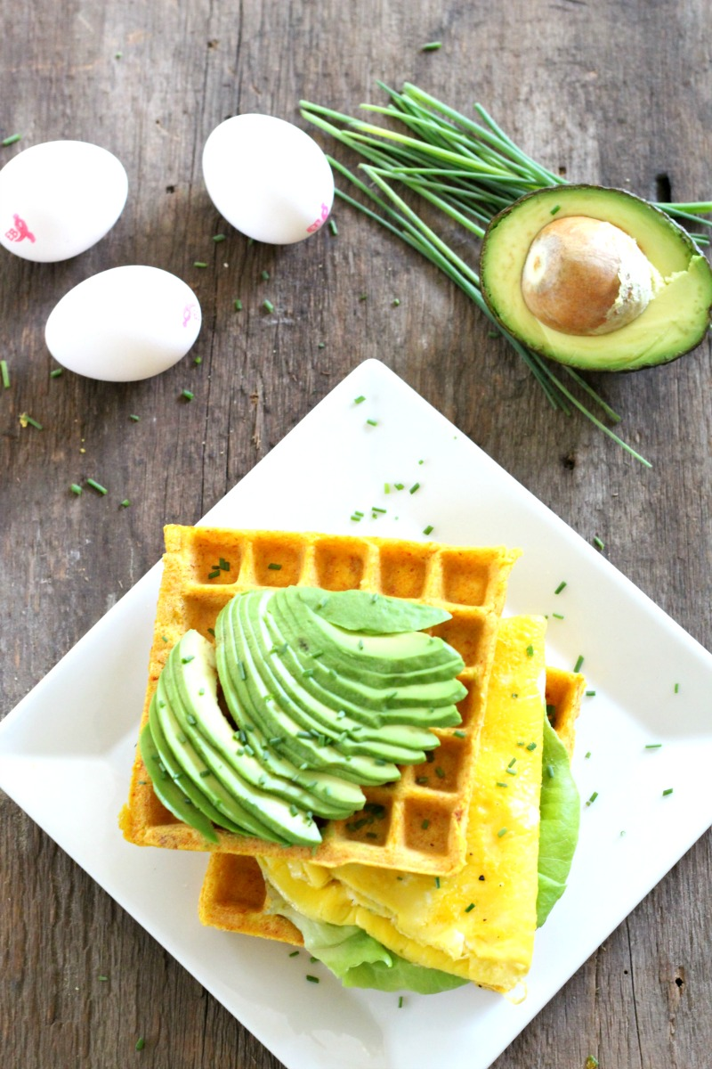 Eggland's Best Egg & Avocado Recovery Wafflewich