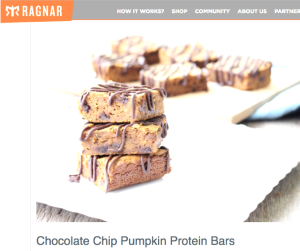 ragnar chocolate chip protein bars