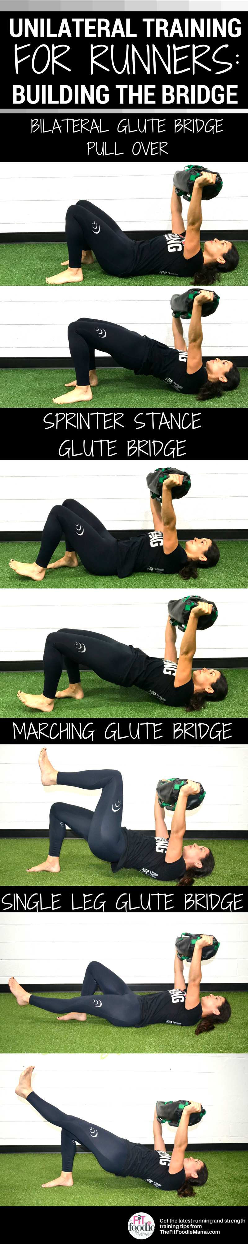 Unliateral Training for Runners: Building the Hip Bridge with the Ultimate Sandbag using DVRT progression exercises