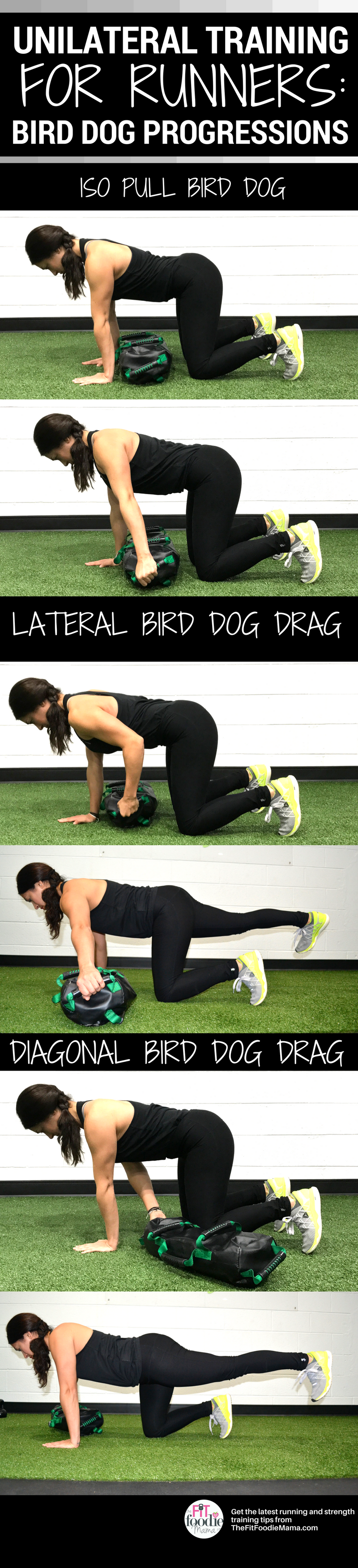 Unilateral Training from the Ground Up for Runners: Bird Dog Progressions