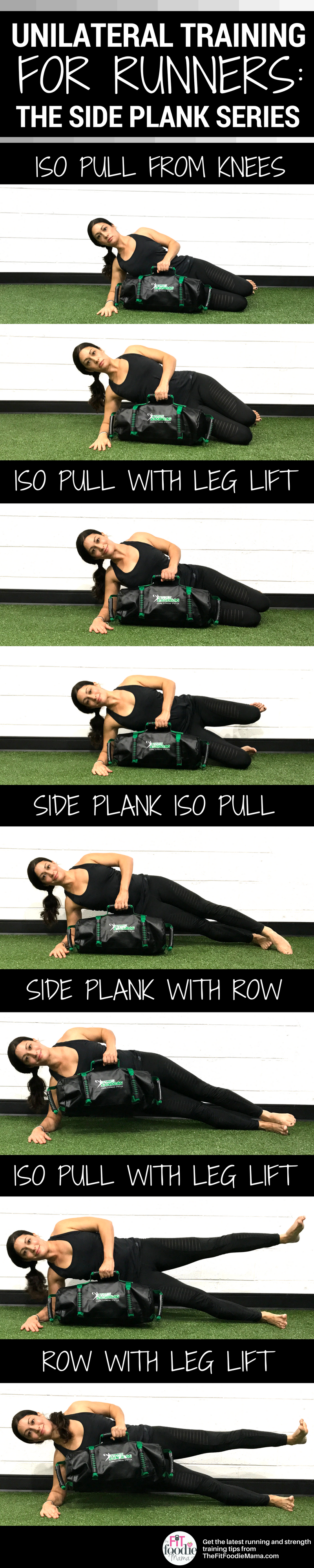 Unilateral Training from the Ground Up for Runners: Progressing the Side Plank Series