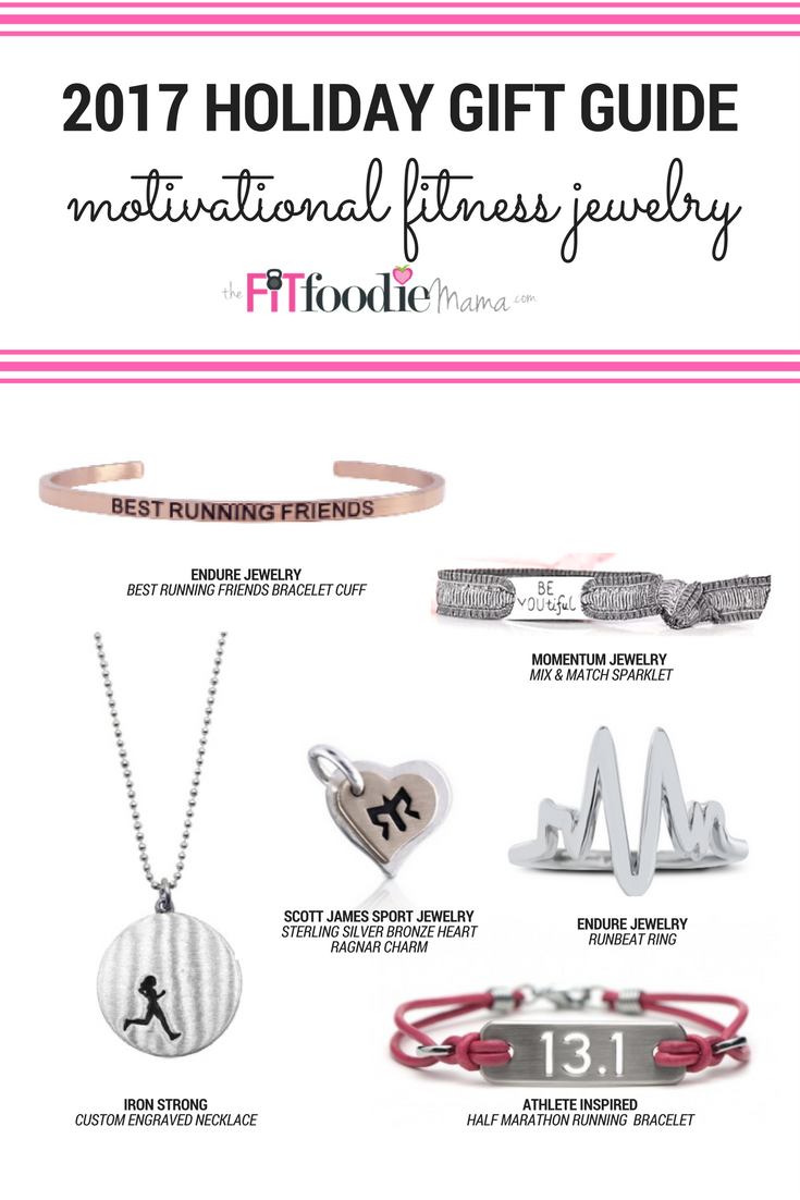 2017 Holiday GIft Guide - Motivational Fitness Jewlery