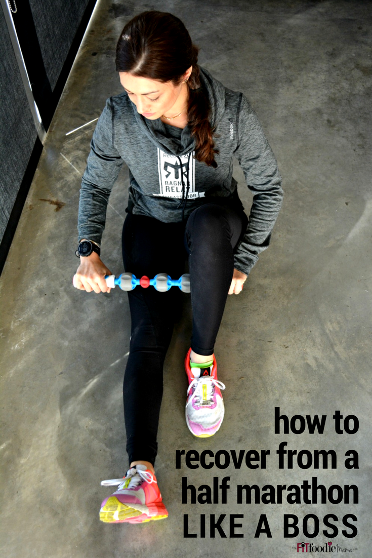 How to recover from a half marathon LIKE A BOSS