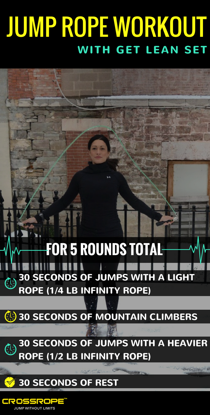 Crossrope Jump Rope Get Lean Workout