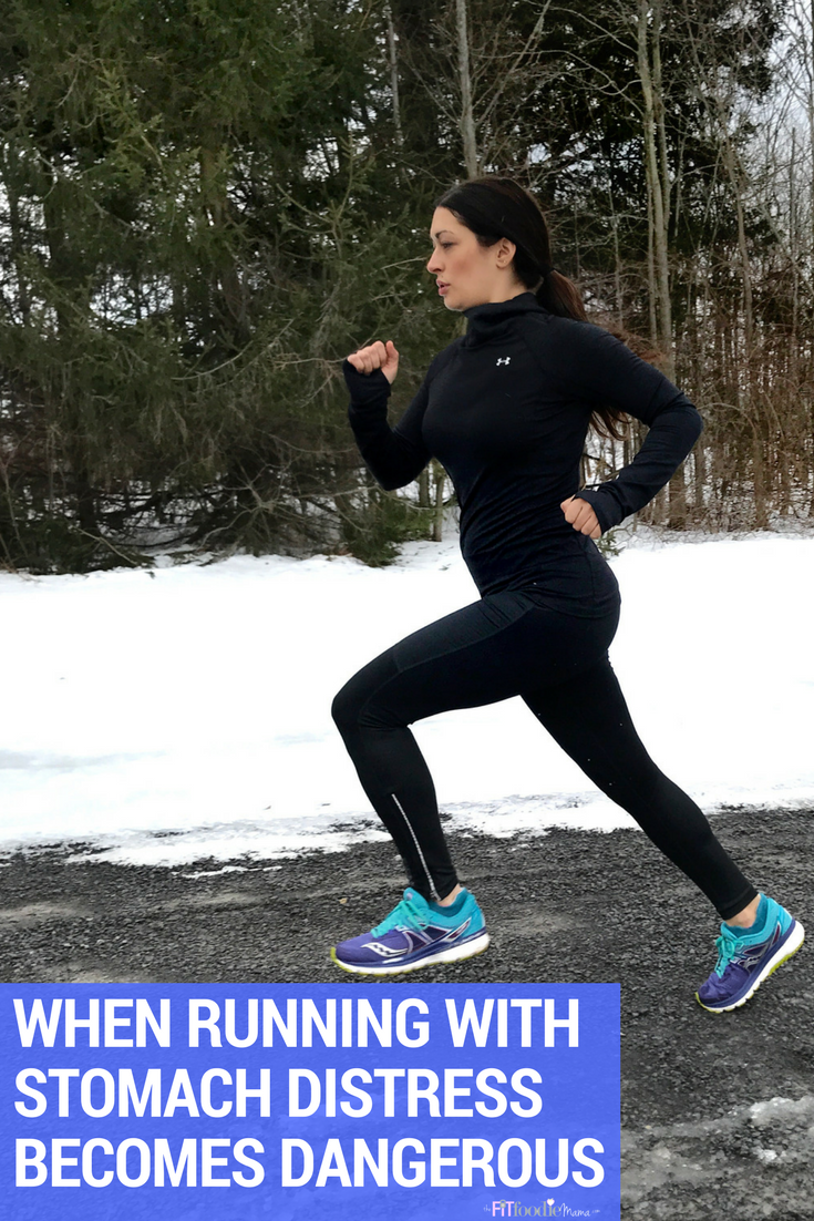 When Running With Stomach Distress Becomes Dangerous